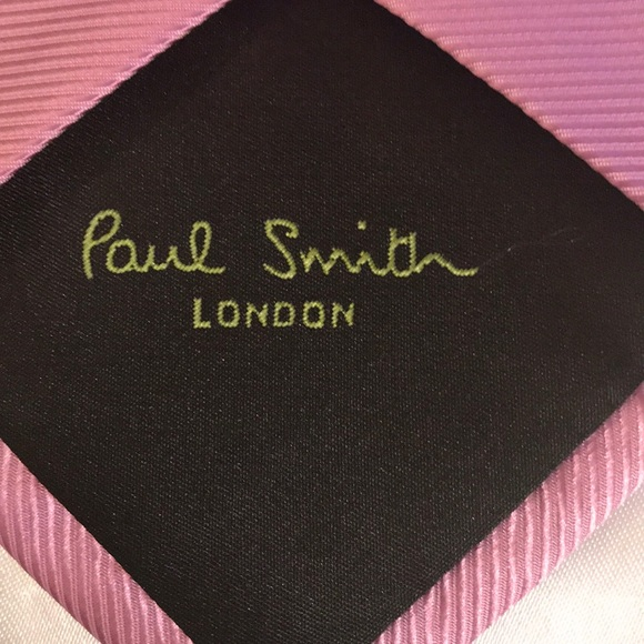 d0a2dc5cfbed Paul Smith London Tie Solid Pink 100% Silk Italy.  M_5c5676852e1478ddec02c9ef. Other Accessories ...